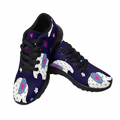 InterestPrint Womens Jogging Running Sneaker Lightweight Go Easy Walking Comfort Sports Running Shoes Multi 10 sbQZLggxex