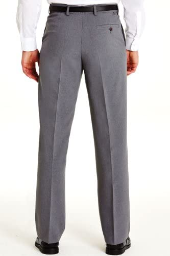 Farah Pantalon pour Homme Gris UK 42/EU 58 x Extra Court - 69cm (27 inch)