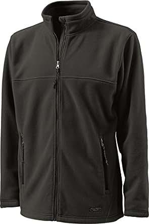 Charles River Apparel Men's Warmth Fleece Jacket, CharcoalHeather, X-Small