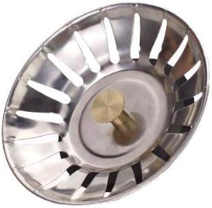 UMI PSS5-P2 par  Lot de 2 Filtres D/évier Bouchon de Cr/épine d/évier Bouchon de Vidange de Cuisine en Acier Inoxydable SUS 304
