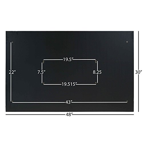 Titan Universal Desk Top – 30 x 48 Black