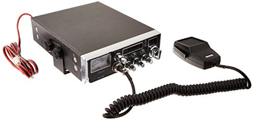 Mobile AM/SSB CB Radio with Frequency Counter & Backlit Faceplate in a Mid Size Chassis – 7.25″ Wide