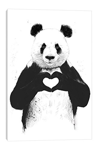 iCanvasART All You Need Is Love Canvas Print by Balazs Solti, 60'' x 1.5'' x 40''