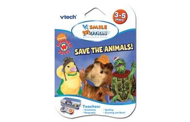 VTech V.Smile Motion Wonder Pets Save the Animals Learning Game