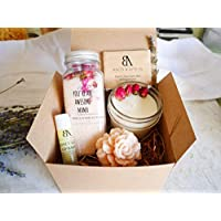 """SHIP NEXT DAY Mom gifts, Spa Gift for Mom, New Mom Gift Basket, Relaxing Spa Gift For Her -""""You're an Awesome Mama"""" Relaxation basket for her (Arrive within 1-3 business days once shipped!)"""