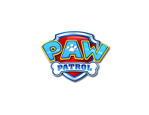 Whimsical Practicality Paw Patrol Logo Sheet Edible Photo Birthday Cake Topper Frosting Sheet Party, Yellow, 1/4 Sheet ()