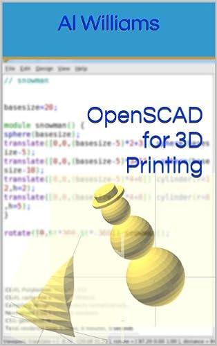 OpenSCAD for 3D Printing, Al Williams, eBook - Amazon com