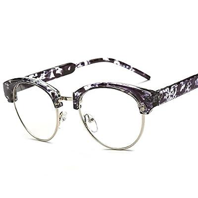 My eyes Half Frame Wayfarer Style Coated Lens Anti-reflective Reading Glasses