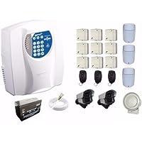 Kit Alarme Residencial E Comercial 12 Sensores + Discadora
