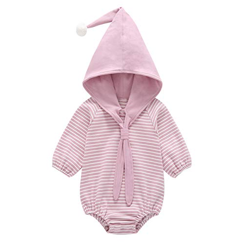 Dolphin House Unisex Baby Long Sleeve Bodysuits, Baby Girls and Boys Onesies Bodysuits,Baby Clothes Outfits(Pink,24 Month)