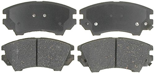 ACDelco 17D1404CH Professional Ceramic Front Disc Brake Pad Set