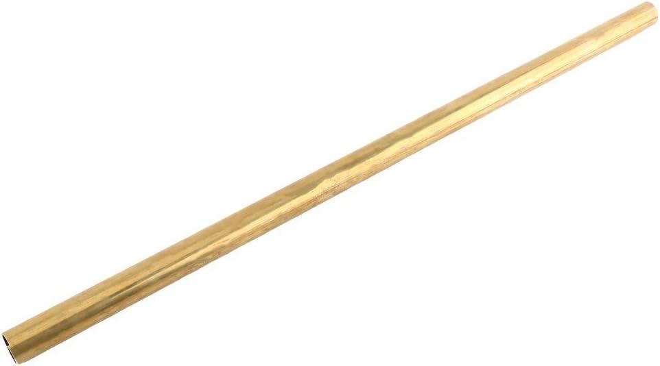 Walfront Tube Tuyau Ronde Laiton Creux Longueur 50cm Paroi 1mm 6mm