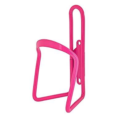SUNLITE Alloy Bicycle Water Bottle Cage, Neon Pink : Sports & Outdoors