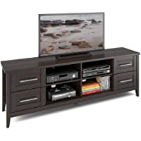 CorLiving TJK-682-B Jackson TV Bench, Extra Wide, Espresso Finish
