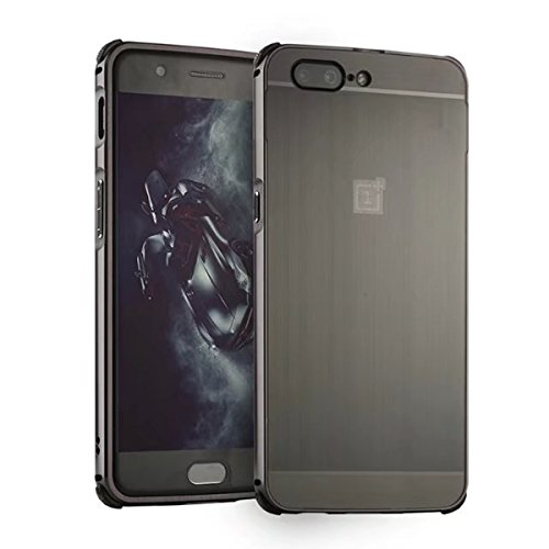 Price comparison product image Xiaomi Mi 6 Case,DAMONDY Luxury Ultra thin Imitation Metal Brushed Premium Aluminum Shockproof Protective Bumper Hard Back Case Cover for Xiaomi Mi 6-Black