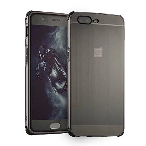Price comparison product image Xiaomi Mi 6 Case, DAMONDY Luxury Ultra thin Imitation Metal Brushed Premium Aluminum Shockproof Protective Bumper Hard Back Case Cover for Xiaomi Mi 6-Black