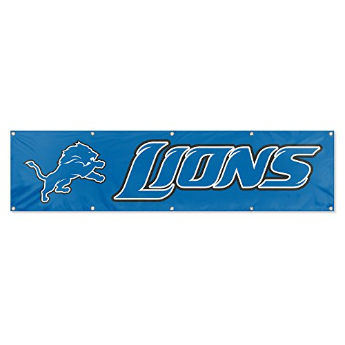 Side Banner 2 Nfl (Party Animal Detroit Lions 8'x2' NFL Banner)