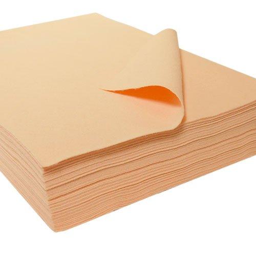 Acrylic Craft Felt Packages (25pcs/pack), Flesh (Craft Felt Acrylic Packages)