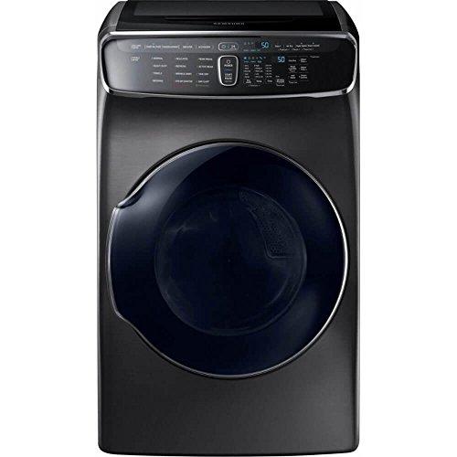 Samsung DVE60M9900V DVE60M9900V/A3 7.5 Cu. Ft. Black Stainless Electric Dryer with FlexDry