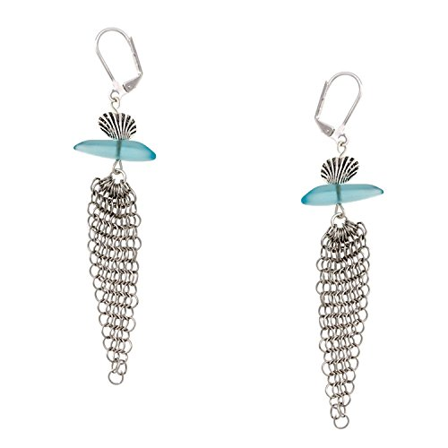 Cape Cod Jewelry-CCJ CCJE-SGF-352 Sea Glass Chain Maille