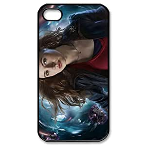 Karen Gillan Redhead Series Girl Doctor Who iPhone 4,4s Cell Phone Snap-on Case Cover-Balck Shell WYO11286 WANGJING JINDA