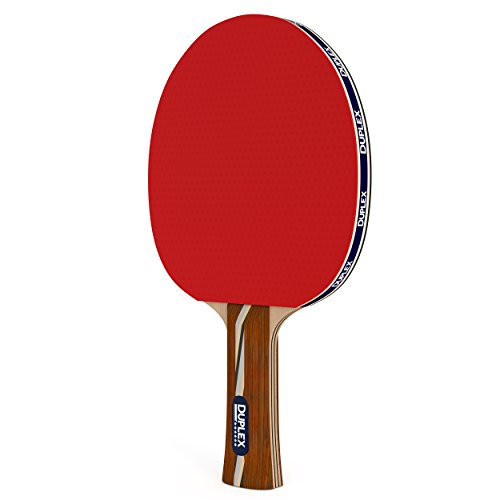 Lowest Price! Duplex | 6 Star Ping Pong Paddle - Best Professional Table Tennis Racket with High Per...