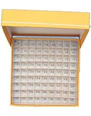 juler Lab Instruments Fluid Liquid Handling 1.5/1.8/2ml Paper Covered Chilled Tube Box 81/100 Cryo Storage Tube Plastic Strip