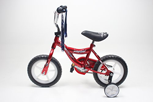 "Chrome Wheels ""Road Star 12"" Bmx Kids Bike Eva Wheels 1Pc/Ctn (Red) -  CW1201"