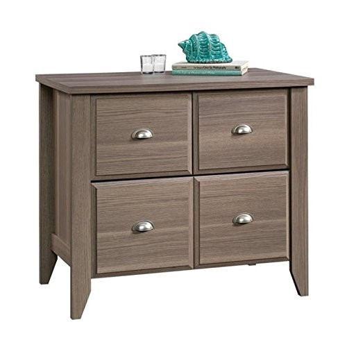 Sauder Shoal Creek File Cabinet, L: 34.80'' x W: 21.61'' x H: 30.51'', Diamond Ash finish by Sauder