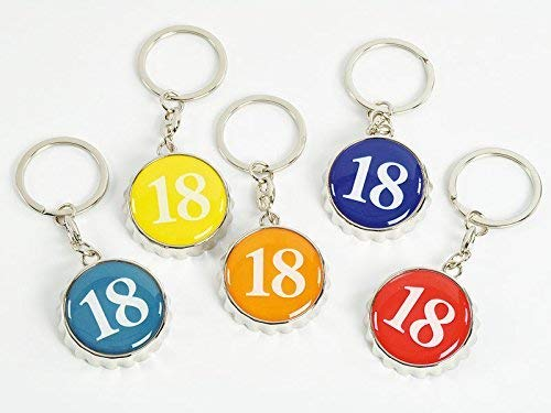 Subito Disponibile 10 Piezas Llavero Abridor 18 Años Belleeek Cumpleaños Bumblebee