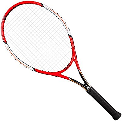 Senston Raqueta de Tenis Moldura de Una Pieza,Unisex,Incluido ...