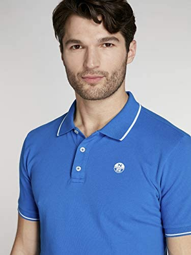 NORTH SAILS Slim Stretch Fluo Polo: Amazon.es: Ropa y accesorios