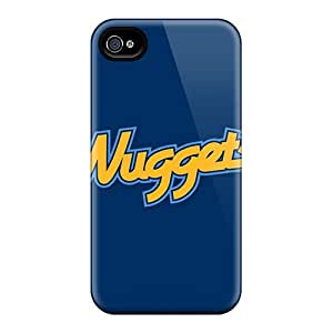 Pretty OyPai737ZmTIn Iphone 4/4s Case Cover/ Nba Denver Nuggets 1 Series High Quality Case