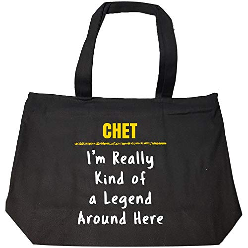 chet-really-kind-of-a-legend-sarcastic-funny-saying-name-pride-gift-fashion-zip-tote-bag