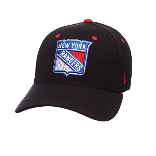 NHL New York Rangers Men's Breakaway Cap, X-Small, Black
