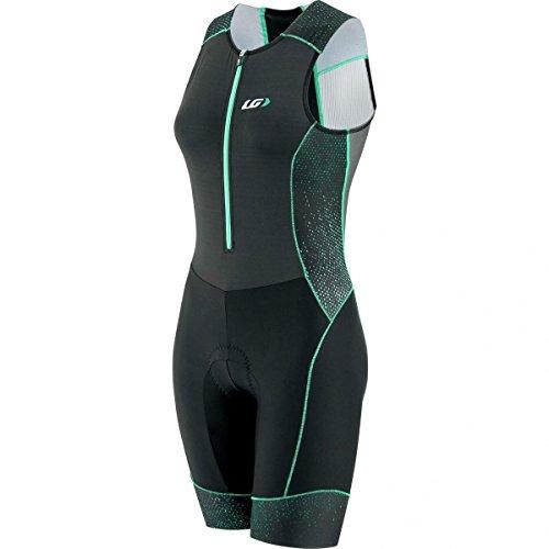 Louis Garneau Pro Carbon Suit - Women's Black/Green, L