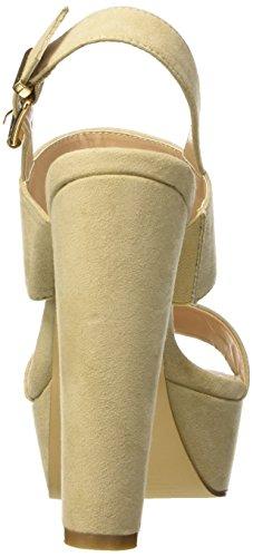 BATA 7698541, Sandalias para Mujer Beige (Beige)