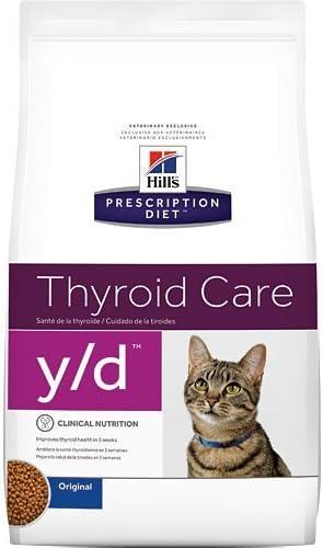 Hill s Prescription Diet y d Thyroid Care Original Dry Cat Food 8.5 lb