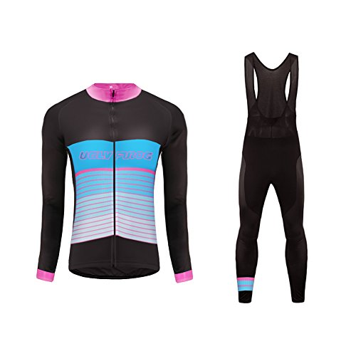 Winter 23 Largas Cremallera Mujer Cálido Maillots Último Moda Mangas Warm Color Transpirable Completa Deportiva Ropa Uglyfrog Ciclismo gPqFp