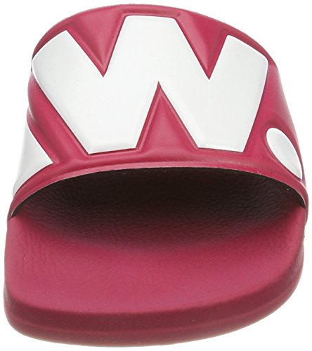 Bright Sandals Pink Cart RAW STAR Bazooka Ii Slide 7178 G Open Women's Toe 1vHnawwqx