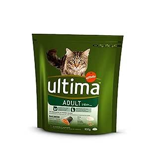 Ultima Alimento Para Gatos Adulto Sabor Salmón Bolsa - 800 gr ...