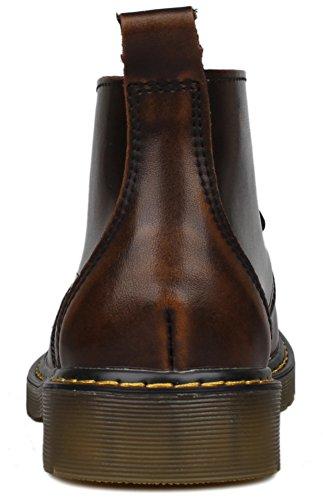 Kunsto Boots homme Marron Chukka Bottes marron OvqUrOw