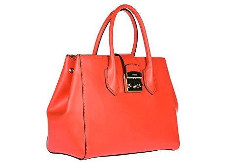 para naranjane bolso nuevo metropolis piel compras de Furla mujer en mano qpvxpCw