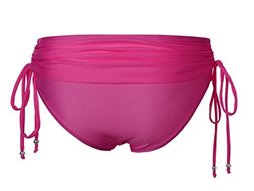 EA Selection - Braguita de Bikini para Mujer con Cordones Rosa