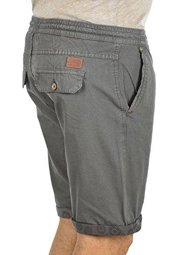 Corto Tela Pantalón Bermuda fit Algodón Regular Para De 70147 100 Blend Granite Hombre Claudio Pantalones Chino xEqwIOT0Ft