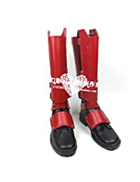 X-Men Deadpool Overall Battleframe PU cosplay costume Boots Boot Shoes Shoe
