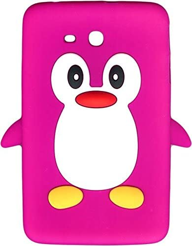 New!! Baby Pink Novelty Penguin Silicone Cover/Case for Samsung ...