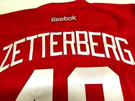 Amazon.com  Autographed Henrik Zetterberg Jersey - Reebok Coa V74749 - PSA DNA  Certified - 5  Sports Collectibles f5ac1eecd