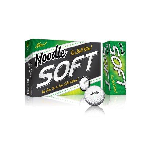 Taylor Made Noodle Soft Golf Balls - 15 Pack