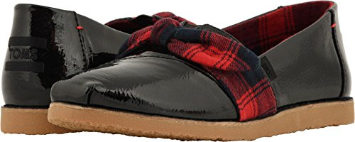 - TOMS Women's Alpargata Black Synthetic Leather (Vegan) 11 B US